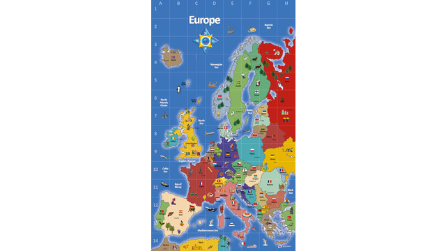 Beebot bluebot europe map mat4