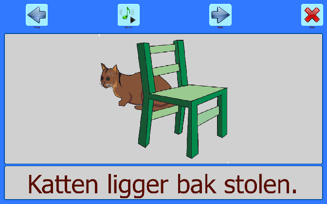 katten bak stolen